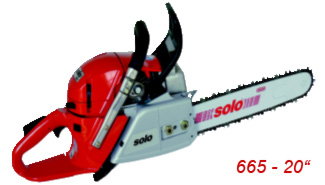 Professional chainsaw 665 20 inches