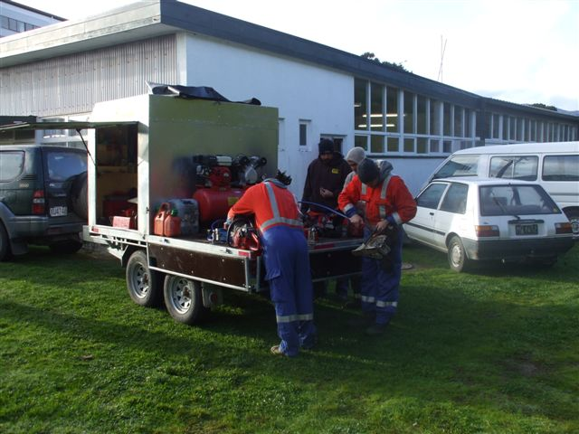 aussy trip - chainsaw training, quad bike training, tree felling, solo chainsaws