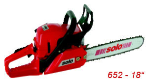 Semi-professional / Medium range chainsaw 652 18 inches